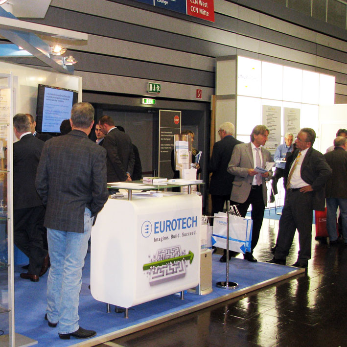 Eurotech stand at Embedded World