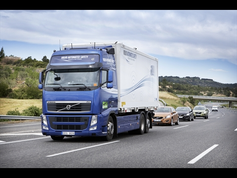 Volvo road train