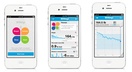 Withings health app