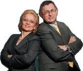 Professors Nada and Andrew Kakabadse