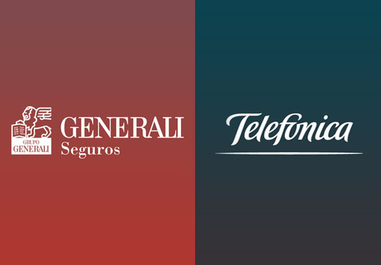 Generali Seguros and Telefónica sign a cooperation agreement for the development of a new automobile insurance.