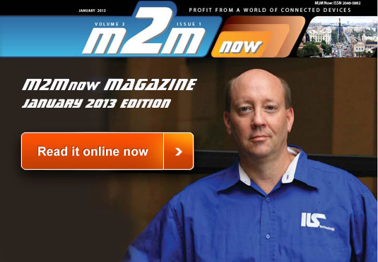 M2M Now Magazine January 2013 Edition Available