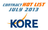 M2M Contract Hot List - July 2013