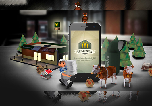 Metaio and McDonald's (Germany) launch mobile augmented reality experience