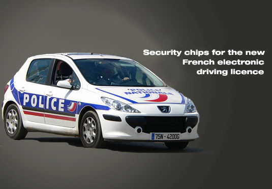 New French electronic driving licence combats fraud with Integrity Guard security chips