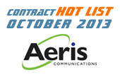 M2M Contract Hot List - October 2013