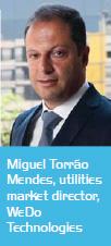 Miguel Torrão Mendes, utilities market director, WeDo Technologies