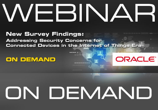 On-demand webinar: Addressing security concerns for connected devices in the Internet of Things era