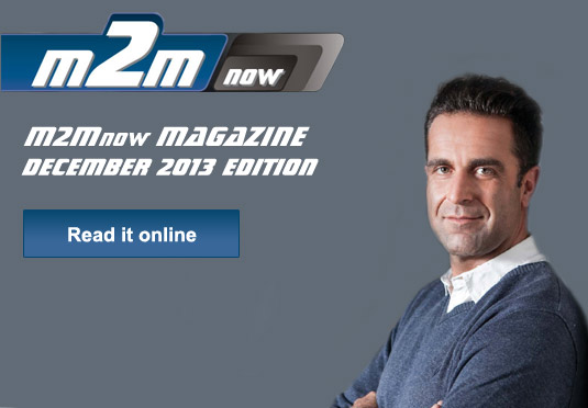 M2M Now Magazine December 2013 Edition