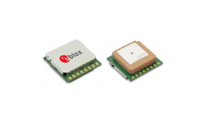 Compact module delivers instant global positioning with no additional components required
