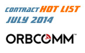 M2M Contract Hot List – July 2014