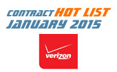 M2M Contract Hot List – December 2014/January 2015