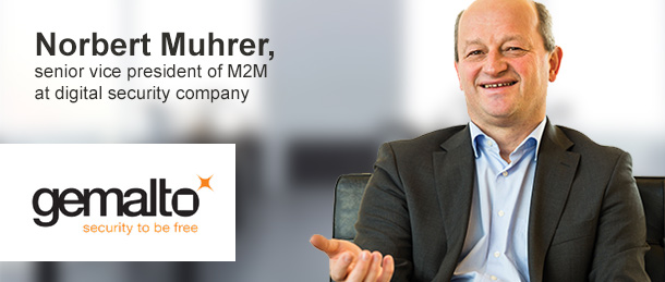 Interview Norbert Muhrer Gemalto