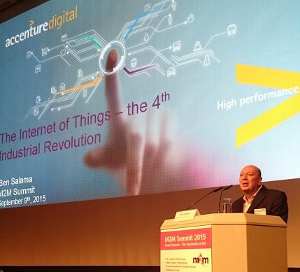 Ben Salama of Accenture Mobility