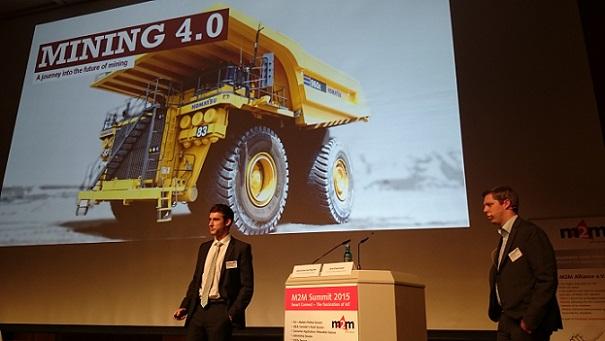 Komatsu's Alexander Hochgurtel and Jens Klopmeier on the road to Mining 4.0