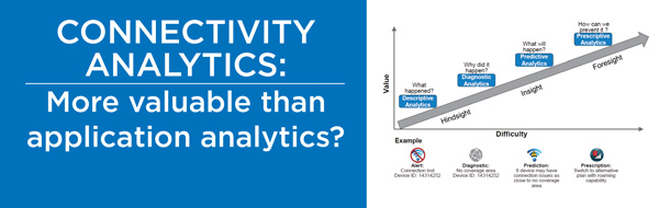 Connectivity analytics: More valuable than application analytics?