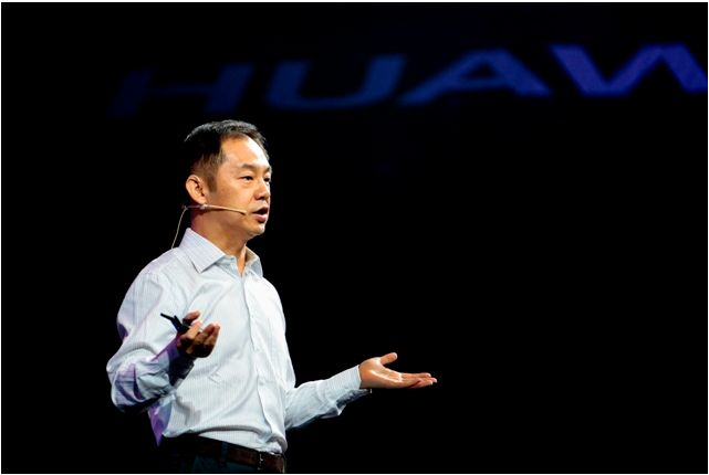Ryan Ding, executive-director and president, Products and Solutions, Huawei