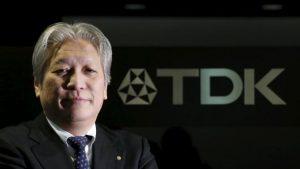 Takehiro Kamigama, president and CEO, TDK