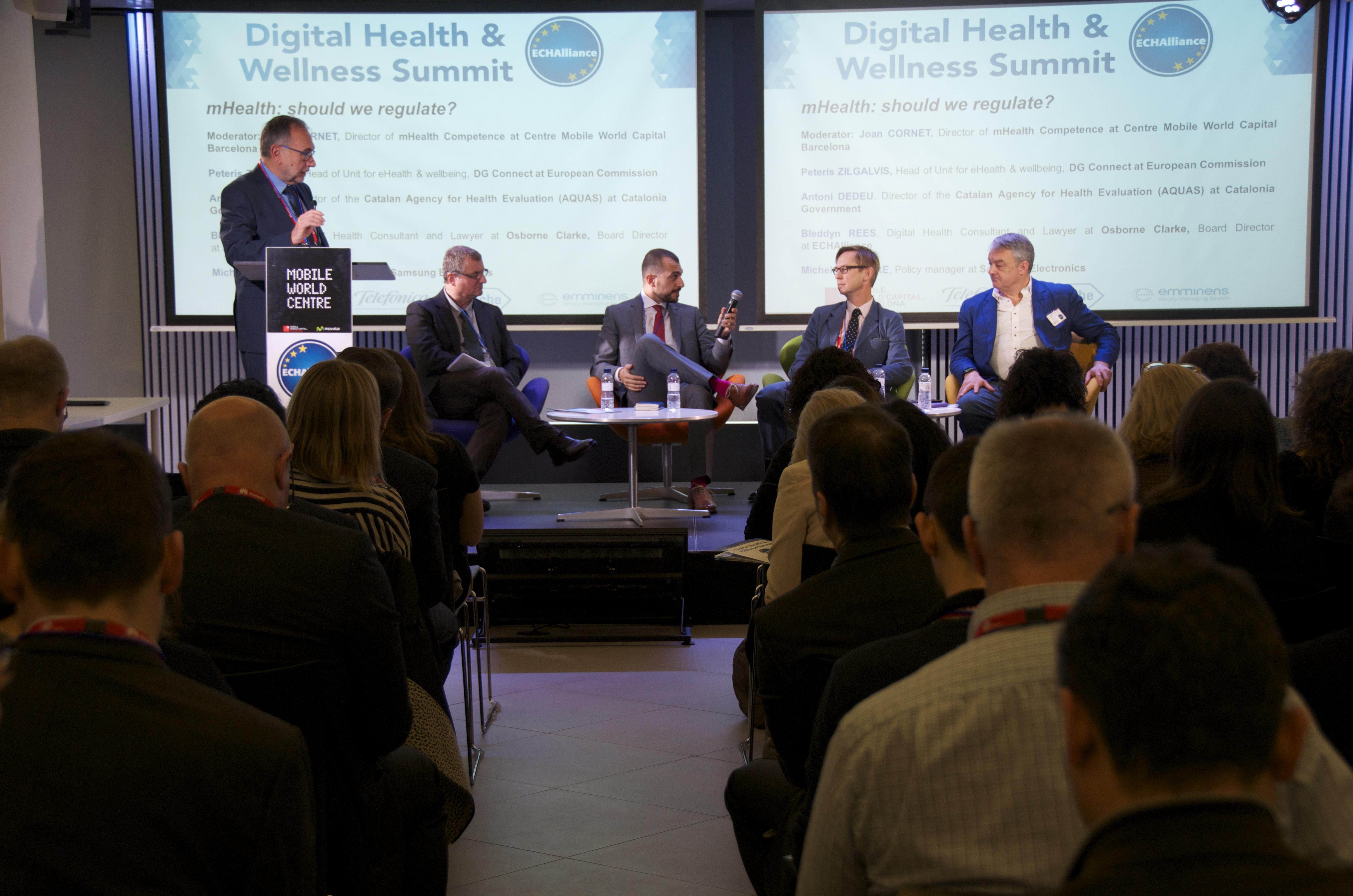 Panel session on regulatory framework of mHealth
