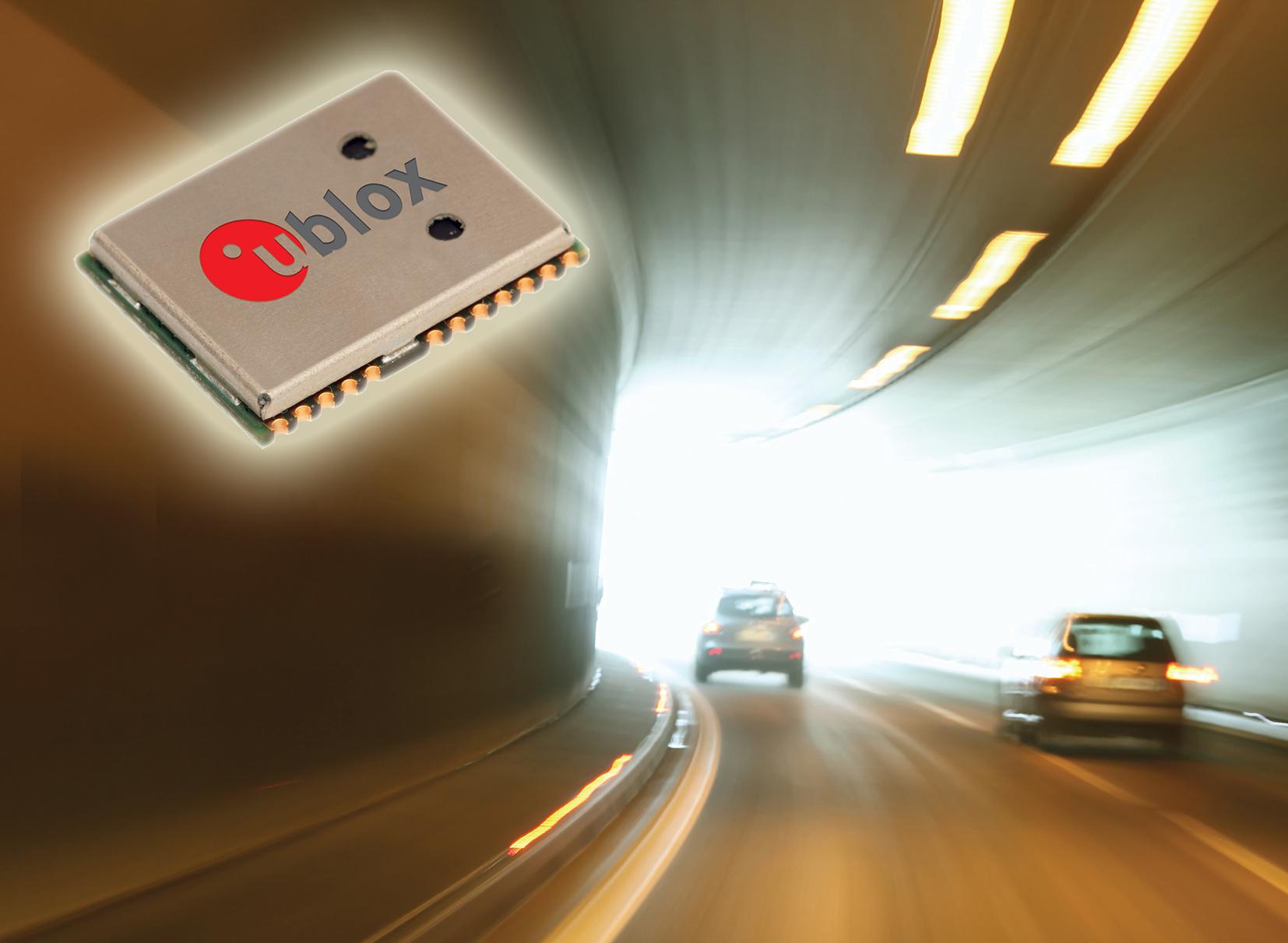 Tunnel car traffic motion blur.