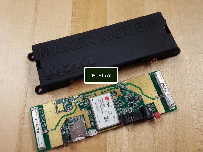 Watch the Maker Modem video