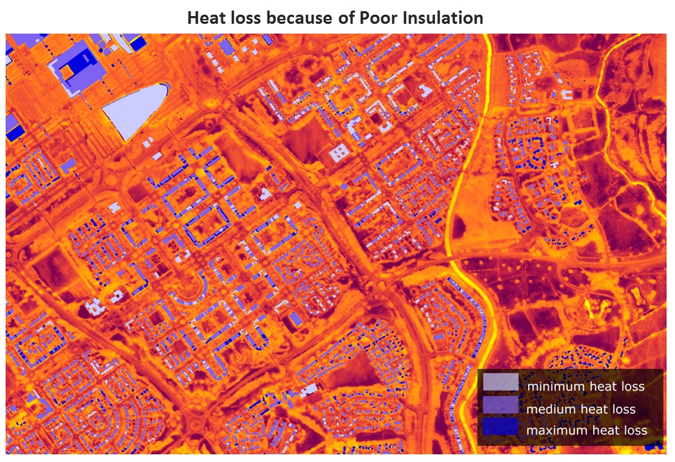 CAPE_Heat loss because of Poor Insulation