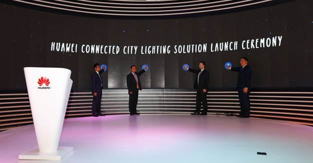 Huawei and Enika Smart Light a.s.(ESL) launched the Connected City Lighting Solution