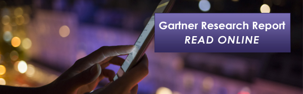 Gartner Research report provides insights to drive digital transformation