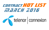 IoT Contract Hot List – February/March – Industrial IoT Edition 2016