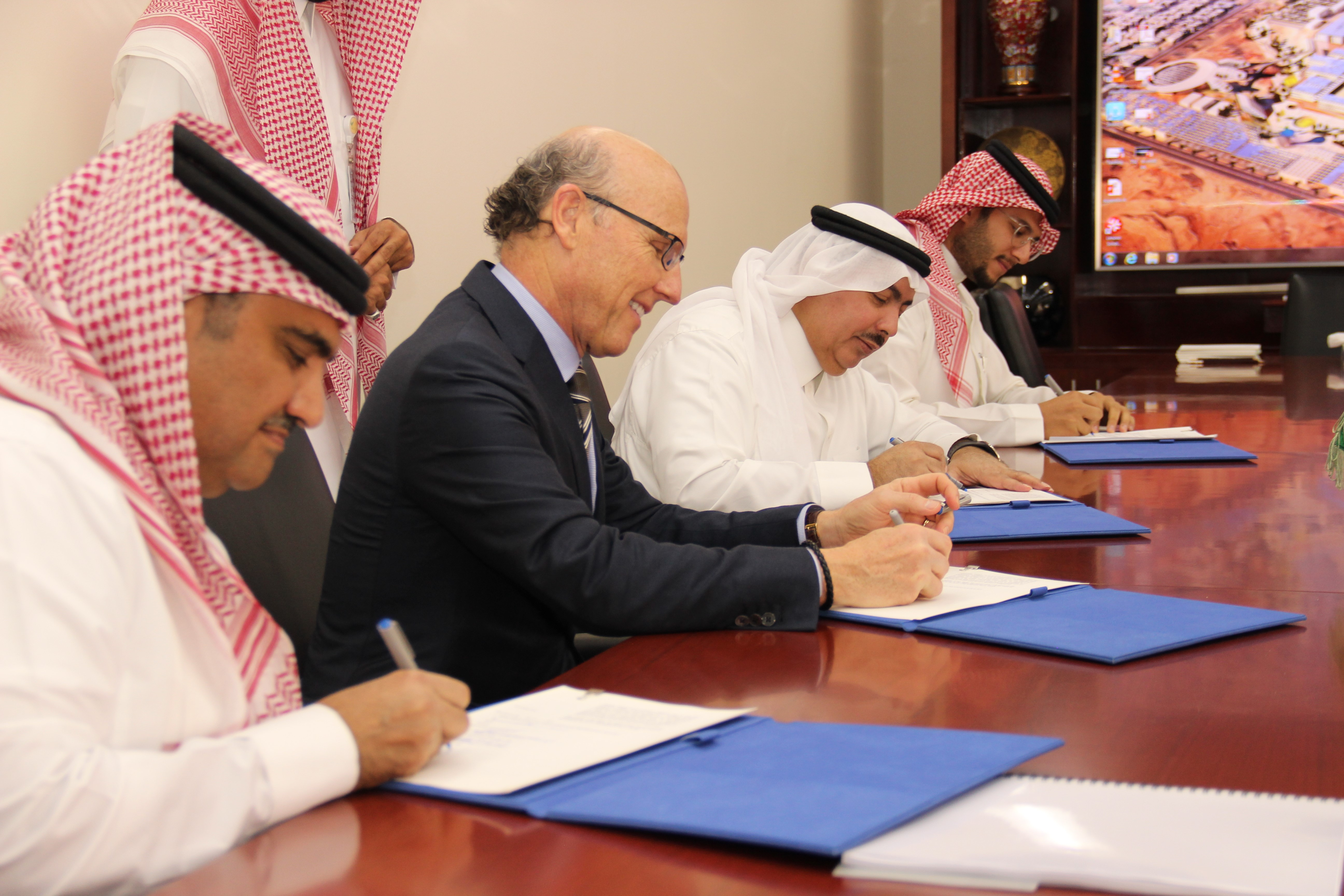 Signing of the joint venture