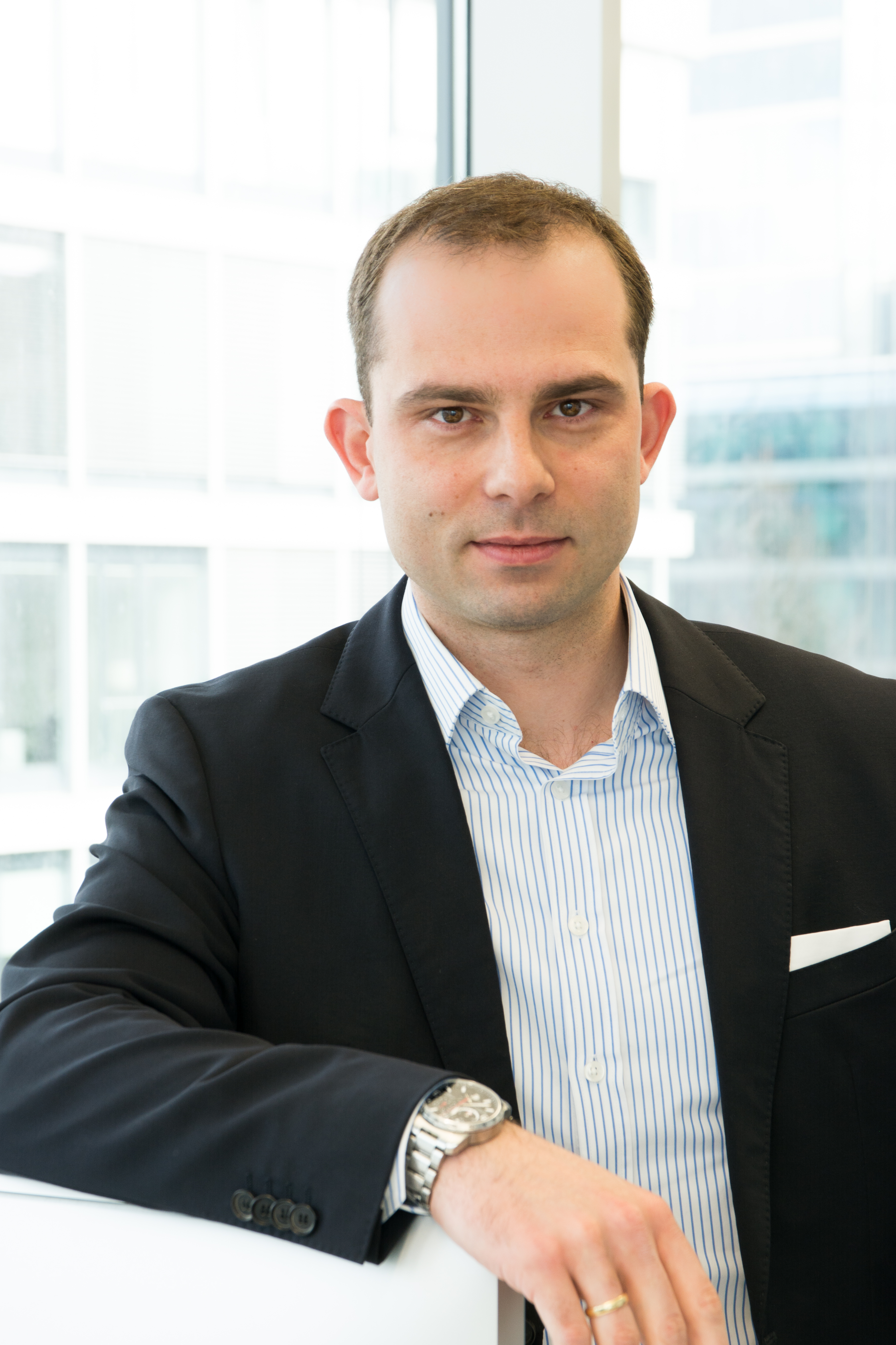 Philipp P. Spangenberg, CEO of baimos technologies