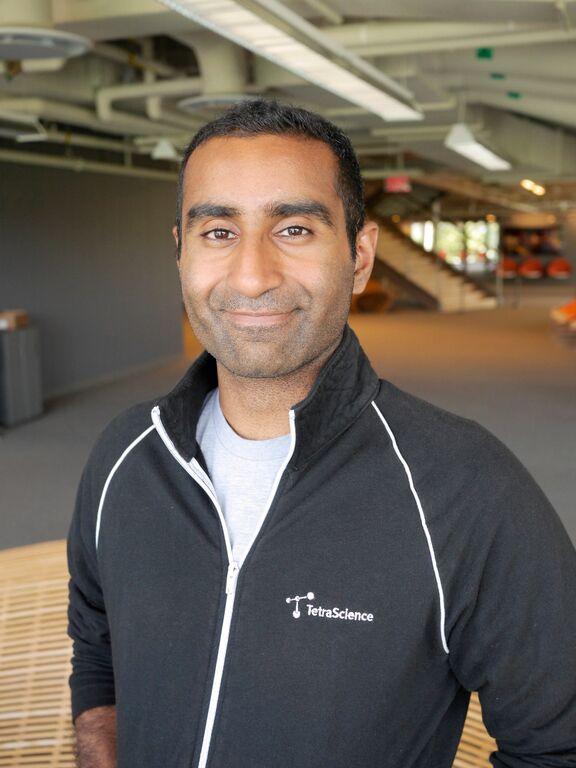 Alok Tayi, PhD co-founder and CEO, TetraScience