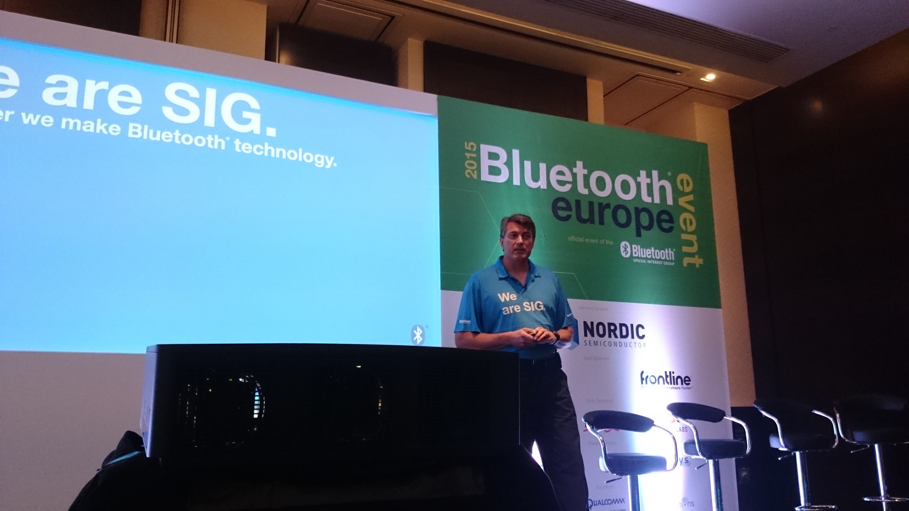 Mark Powell, executive director of the Bluetooth SIG