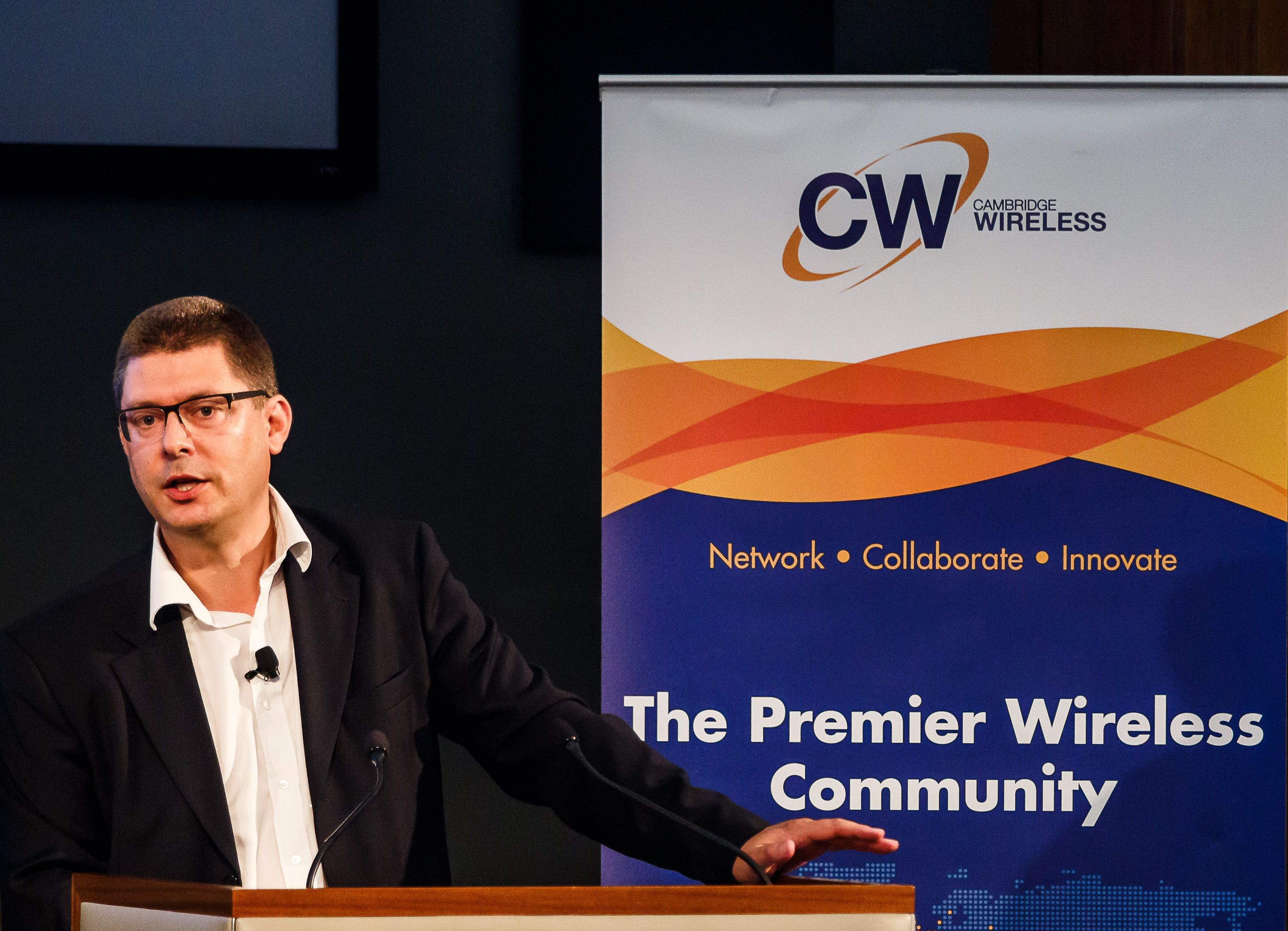 Simon Fletcher, CTO at Real Wireless and Chair of the Future of Wireless International Conference (FWIC)
