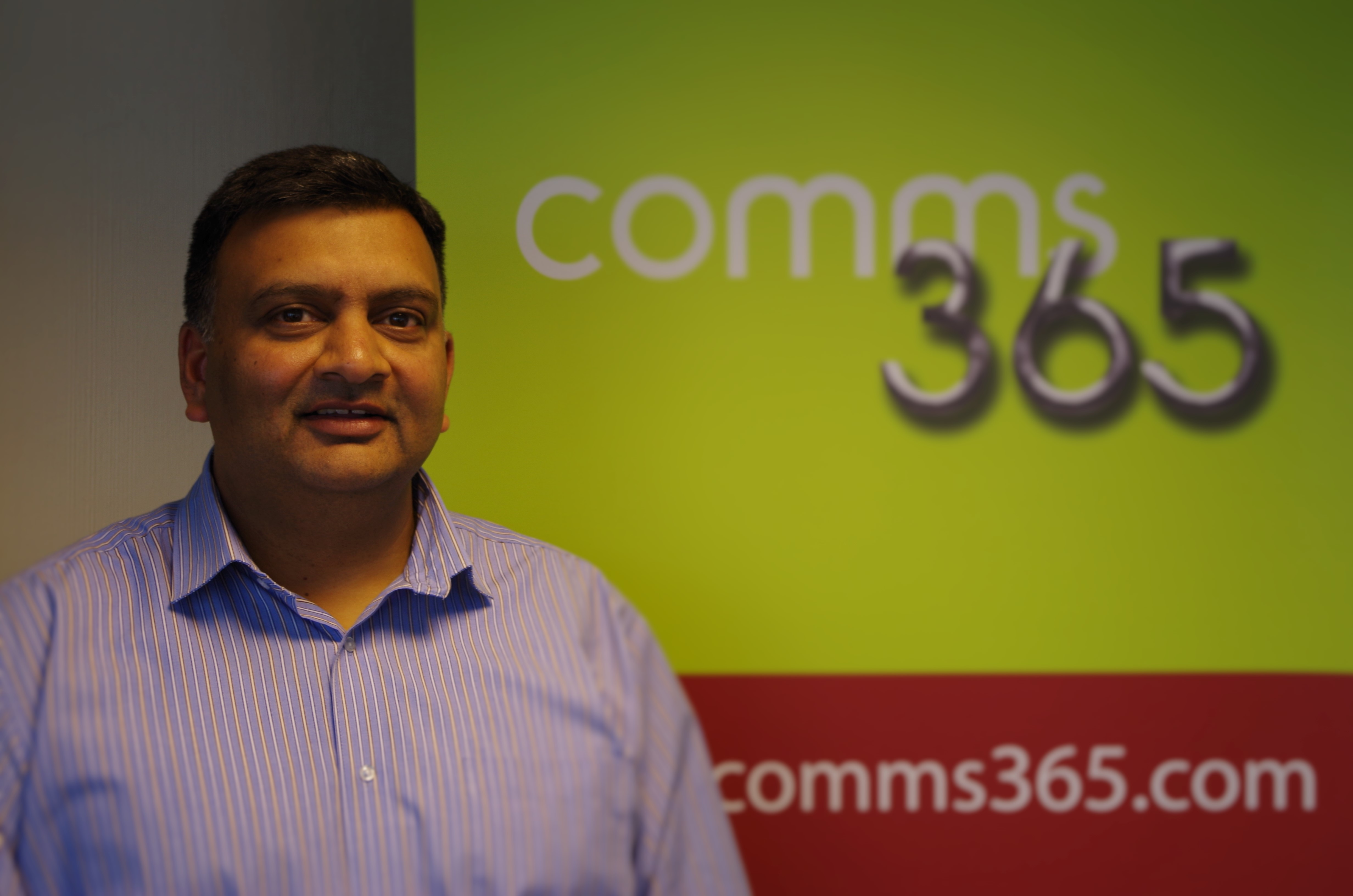 Situl Shah as head of Business Development, Comms365
