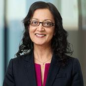 Rima Qureshi, senior vice president & chief strategy officer, Ericsson