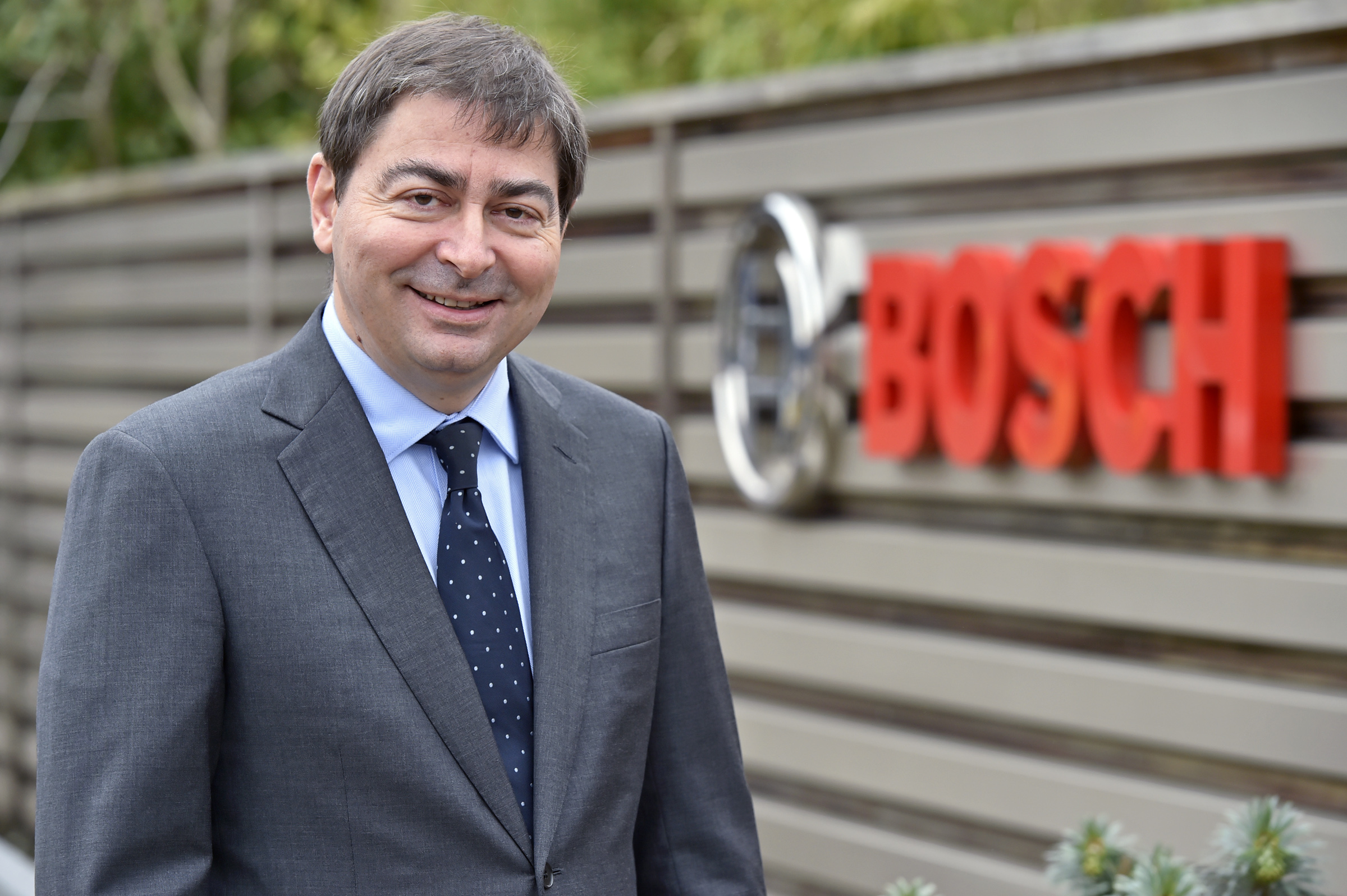 Steffen Hoffmann, president of Bosch in the UK