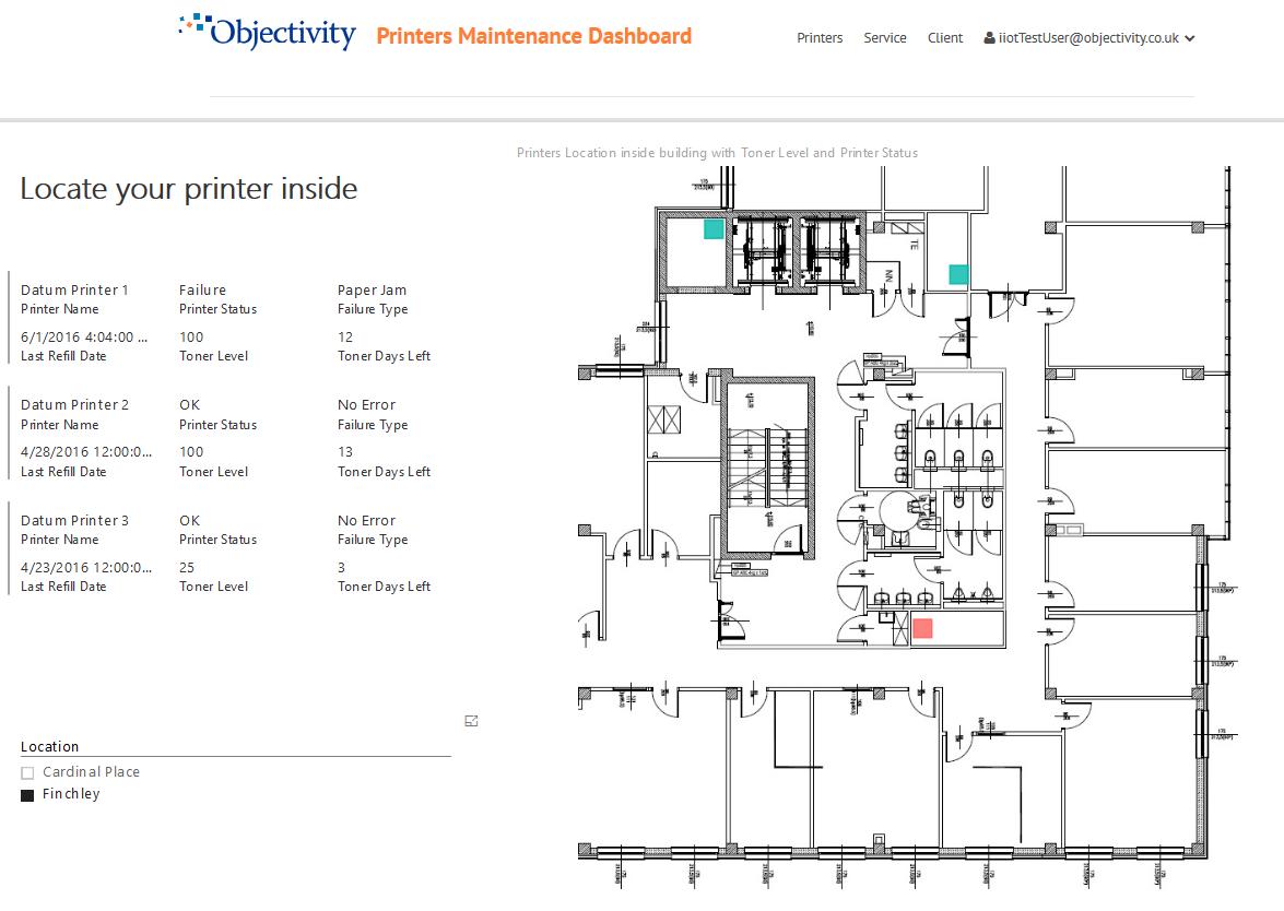 IoT PowerBI-AssetLocation-FloorPlan
