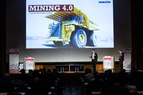 At the 2015 Summit the IoT in mining was covered under Industry 4.0