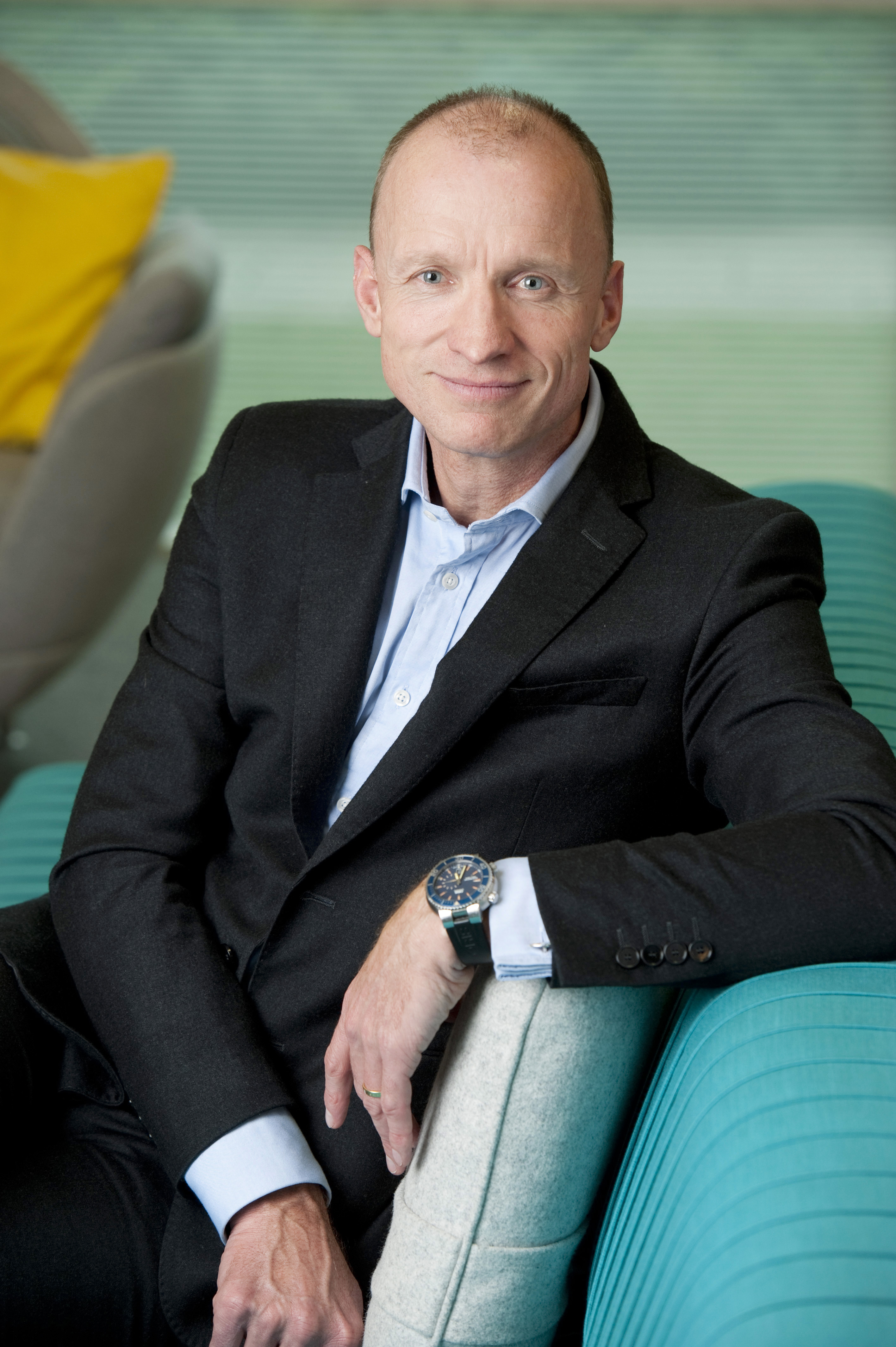 Olaf Swantee, the former CEO of EE