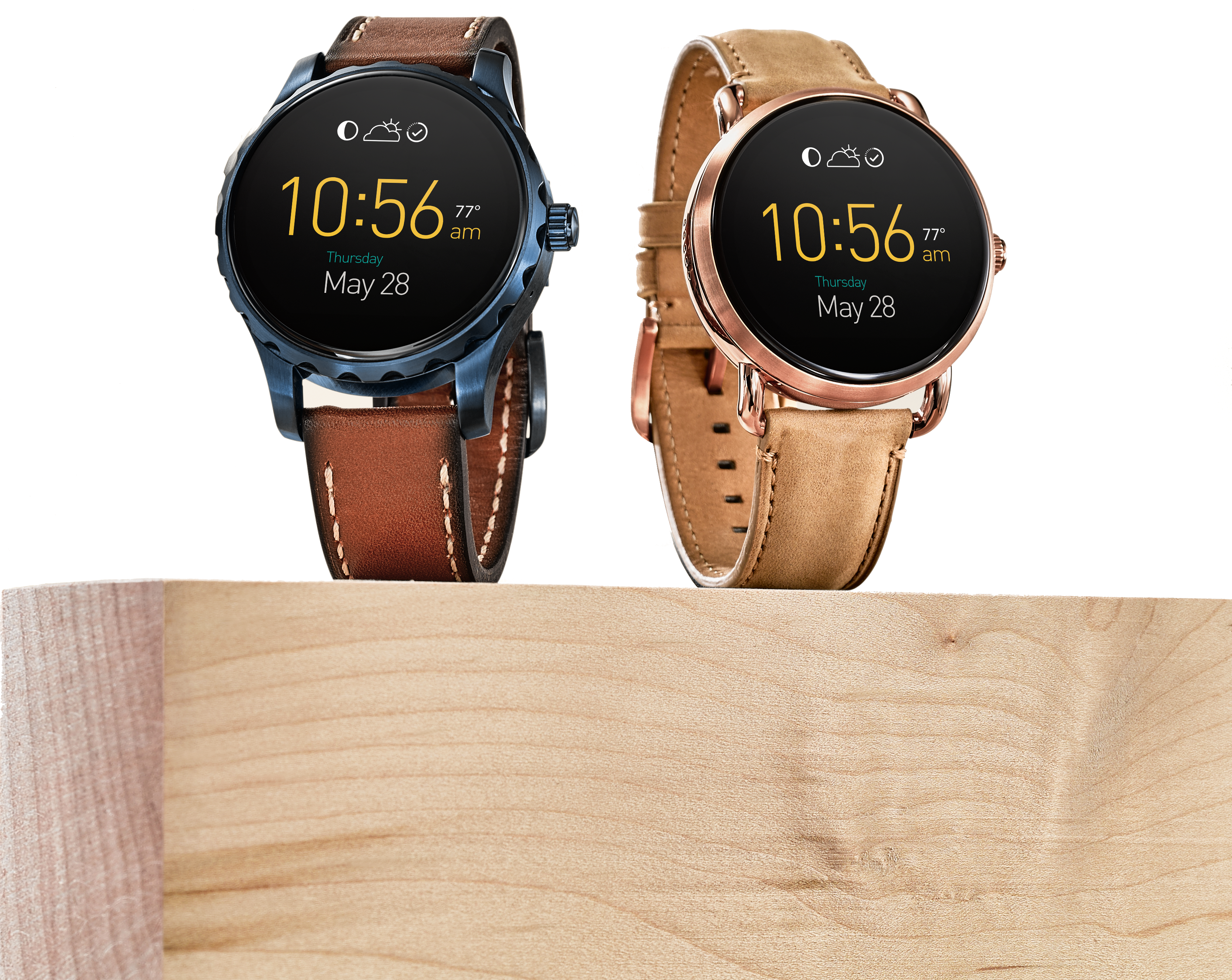 Fossil Q Marshal and Q Wander on block