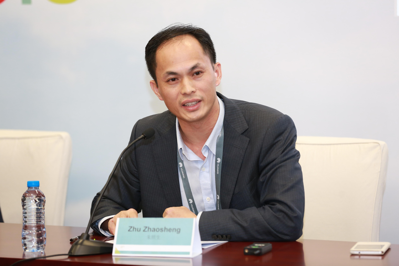 Zhu Zhaosheng, general manager of the Huawei FusionInsight Big Data Platform