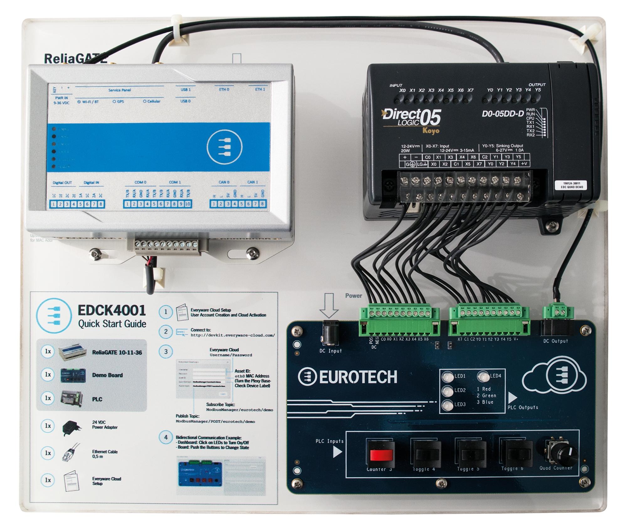 EDCK 4001 IoT Dev Kit