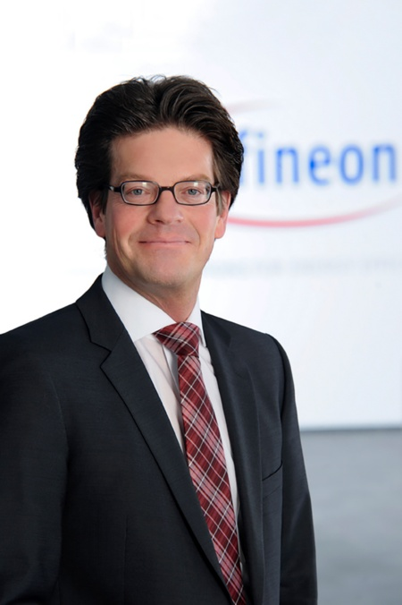 Peter Schiefer, president of the Automotive division at Infineon