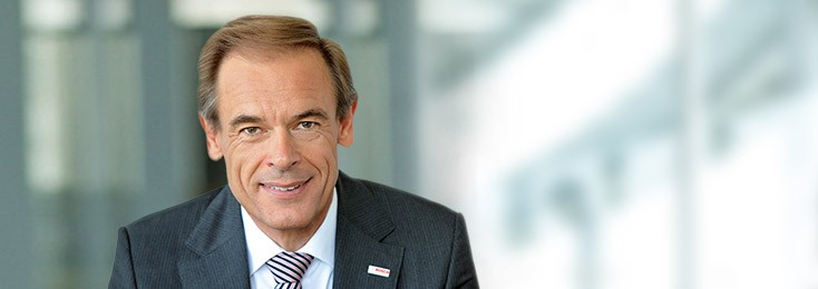 Dr. Volkmar Denner, chairman of the Board of Management at Robert Bosch GmbH