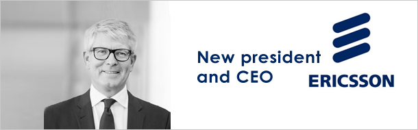 Ekholm calls for 'courage and reinvestment' as he is named Ericsson's new president and CEO
