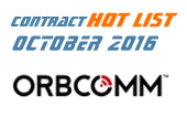 IoT Contract Hot List – September/October 2016