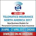 3rd Annual Telematics Insurance North America 2017