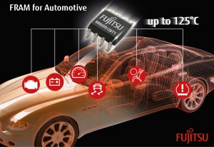 Second high temperature FRAM for automotive and industrial applications announced by Fujitsu