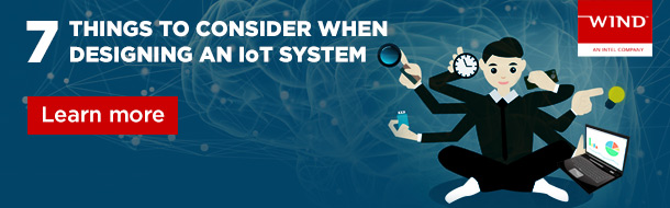 7 Things to consider when designing an IoT system